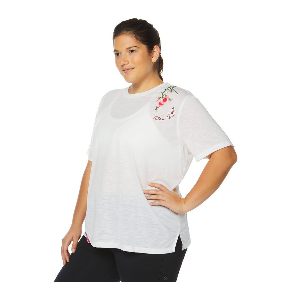 CAPTIVATE GRAPHIC TEE (PLUS SIZE)
