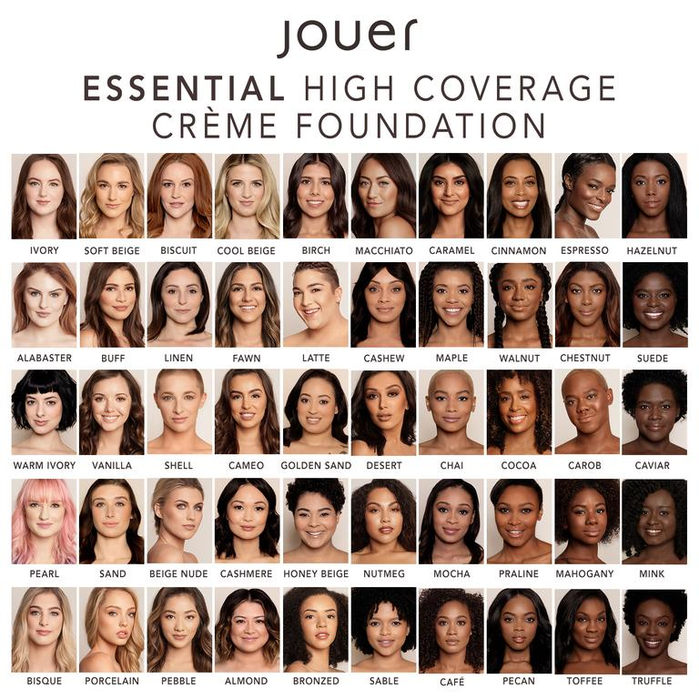 Essential High Coverage Crème Foundation - 50PC Deluxe Starter Set