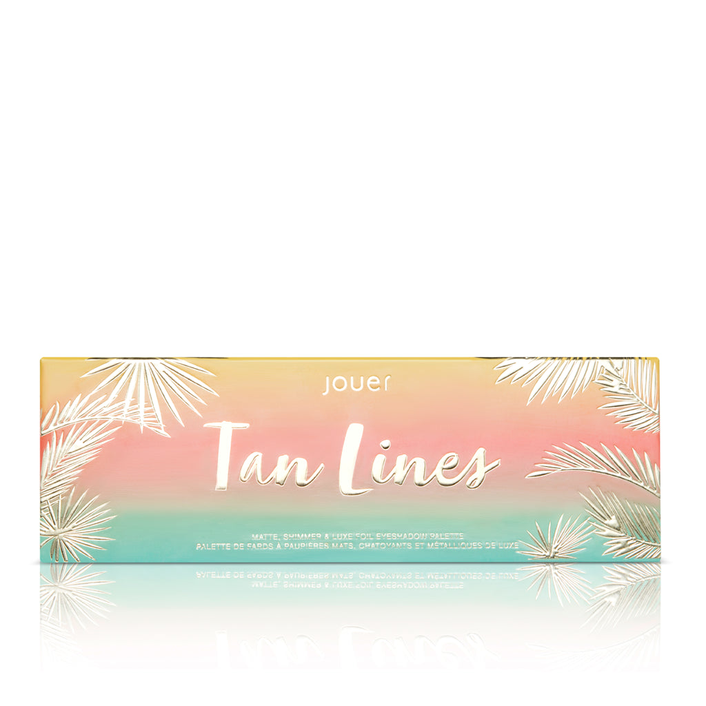 Tan Lines Matte, Shimmer & Luxe Foil Eyeshadow Palette