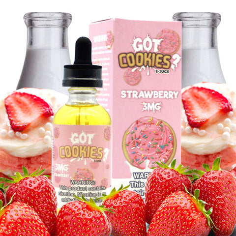 Strawberry - Got Cookies E-Juice