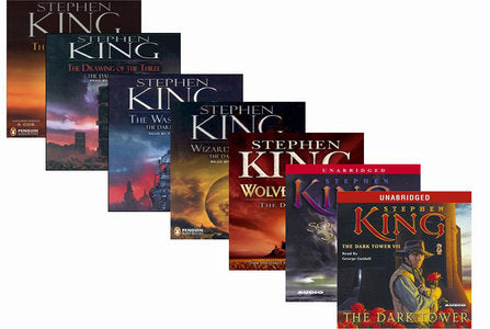 The Dark Tower Complete Series by Stephen King 1-7 Audiobooks