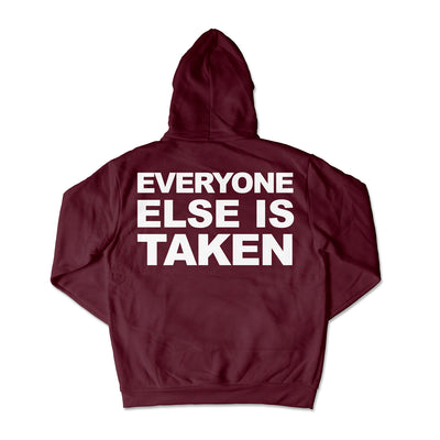 Just Be Yourself Hoodie / Maroon