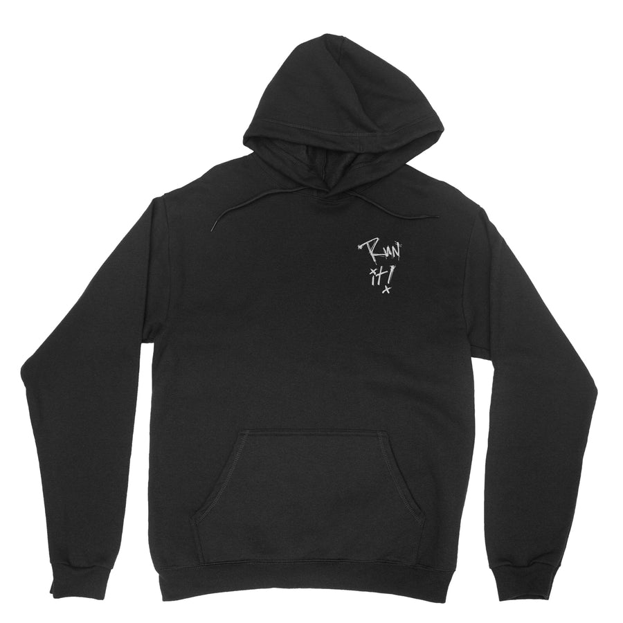 Run It Hoodie / Black
