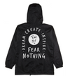 Dream Create Inspire Windbreaker / Black
