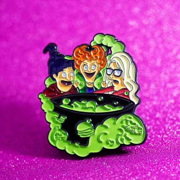 Belcher Witches Pin