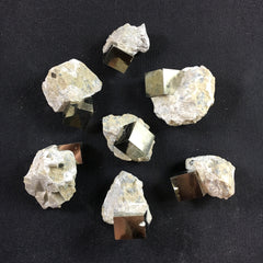 Pyrite Cube on Matrix - B an C Grade - Enchanted Crystal