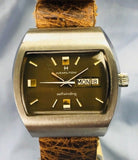 Vintage 1969 Hamilton Automatic Day Date Square Wristwatch