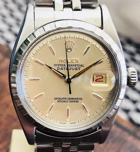 Rolex Datejust Ref. 6605 from 1958 - HallandLaddco.com