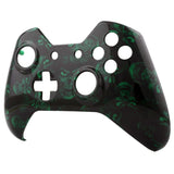 Green Death Face Plate Front Shell Custom Kits for Xbox One Controller - XOSF022