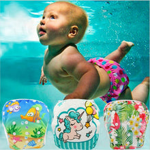 Load image into Gallery viewer, Premium Reusable Swim Diaper