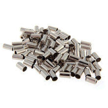 Load image into Gallery viewer, Silver Brake Housing Ferrule (Mega 100 pack) - OBEVY