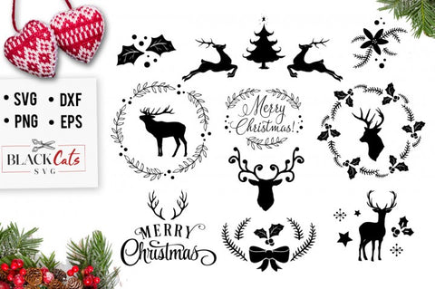 Christmas SVG pack cutting file