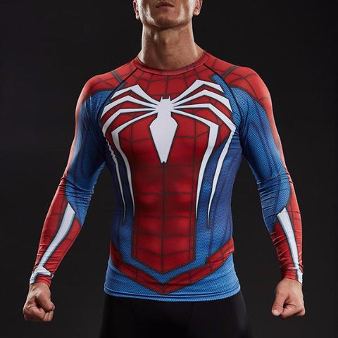 Spider-Man Dry-Fit Long Sleeve