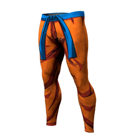 Men's Compression Pants - Goku Battle Compression Pants