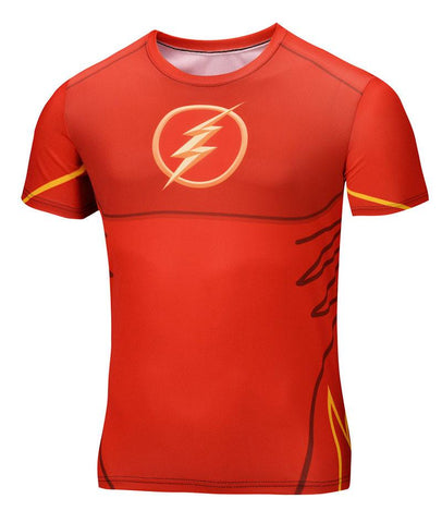 Super Hero Shirt - Flash Compression Shirt