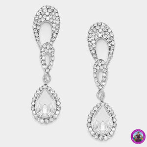 Crystal Evening Earrings 4423