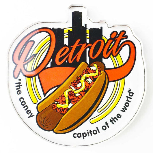 Magnet - Detroit Coney Capital-Magnet-Detroit Shirt Company