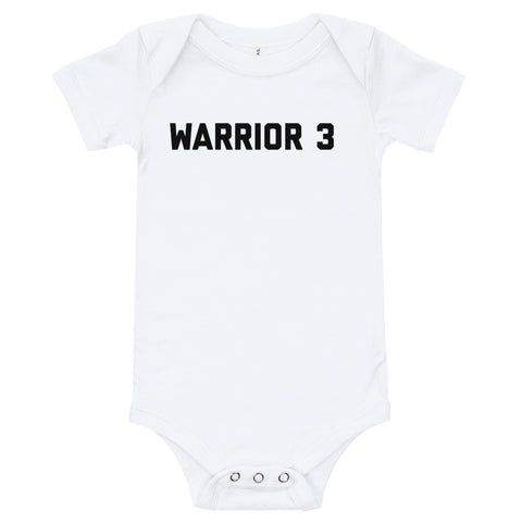 WARRIOR 3 - Infant Onesie