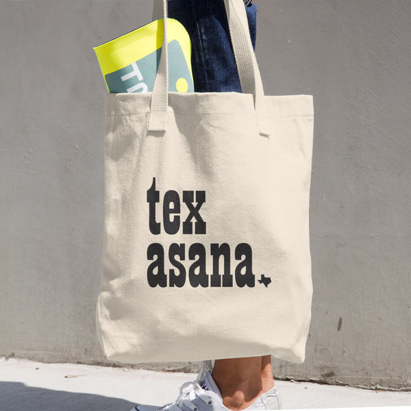 TEX ASANA - Cotton Tote Bag