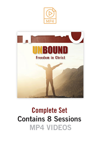 Unbound Freedom in Christ MP4 Videos [Complete Set]
