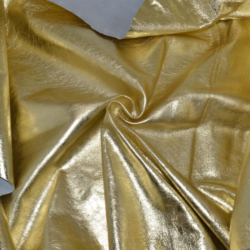 - wholesale-leather   OSM Leather USA - osm-leather-usa Metallic Gold Medium - genuine-leather
