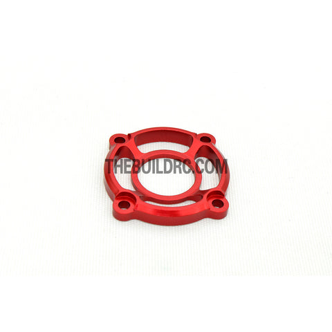 1/10 RC Racing Car CNC Alloy Cooling Fan Mount Stand - Red