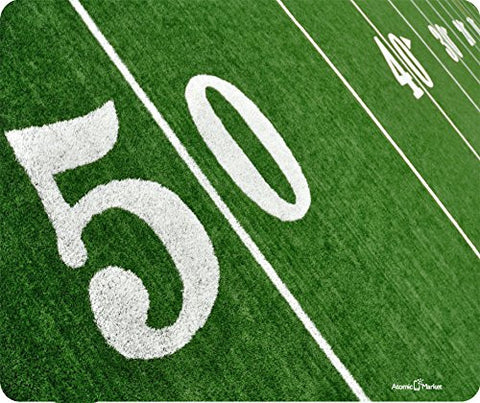 50 yard Line Football On Field by Atomic Market
