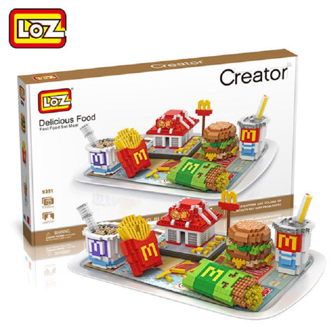 LOZ 9391 Fast Food - Your World of Building Blocks