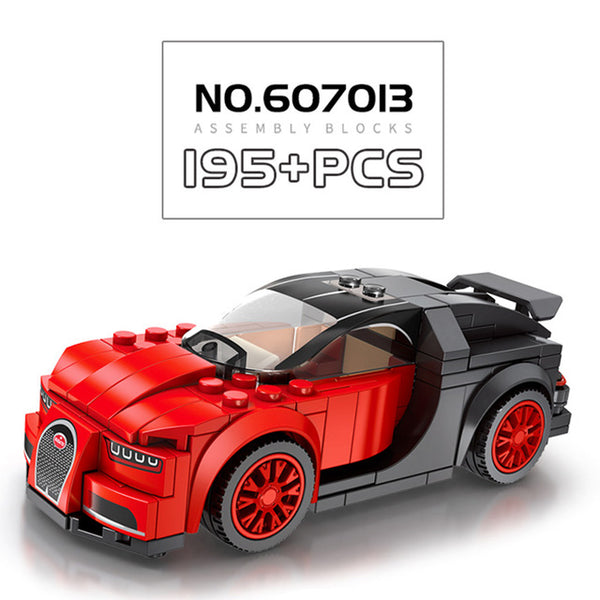 SEMBO 607013-607016 Mini racing cars