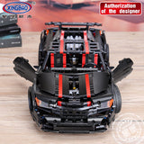 XINGBAO Technic Dream Car Series XB-07003 The 2015 Assassin X19 Set Building Blocks Bricks Toys - Your World of Building Blocks