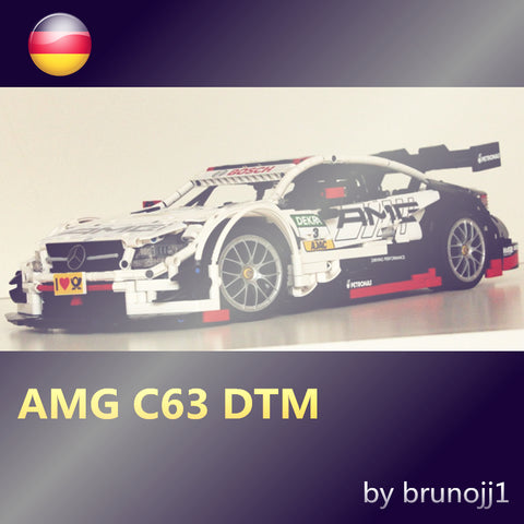 MOC Mercedes-Benz AMG C63 DTM - Your World of Building Blocks