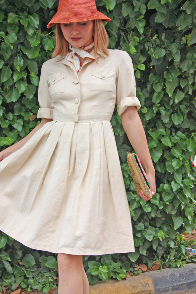 1950s vintage style retro dress - SoLovesVintage