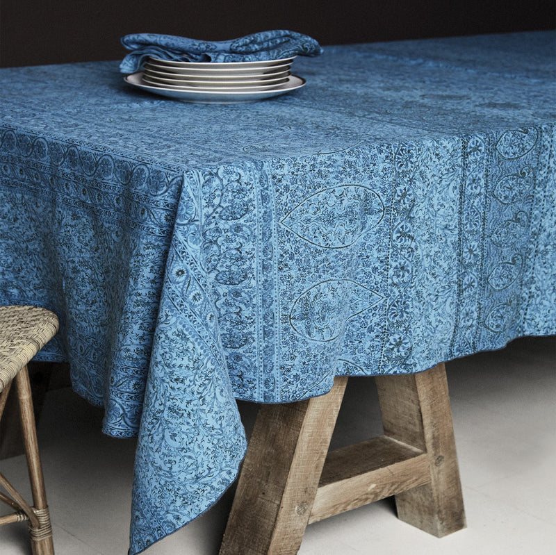 Print Tablecloth · Pure Washed Linen