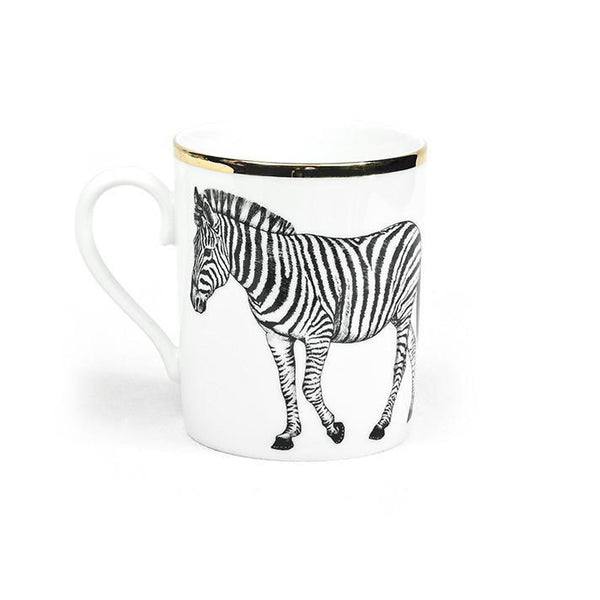 Mug · Limoges Porcelain · Animals