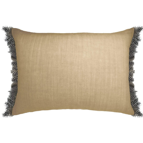 Cushion Cover · Pure Washed Linen and Feathers · Ishi