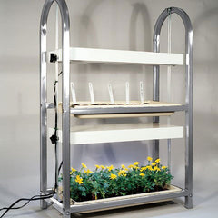 2 Tier Grow Light/Plant Stand (2 Trays)