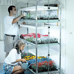 3 Tier Grow Light/Plant Stand (12 Trays)