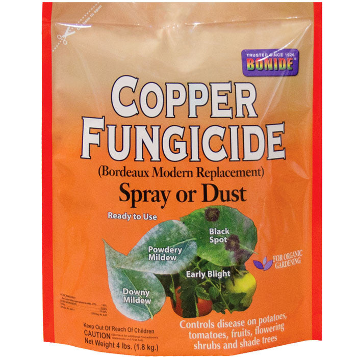 Fungicide Copper Dust/Spray 4 lb.