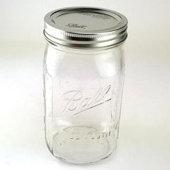1 Quart Wide Mouth Canning Jar