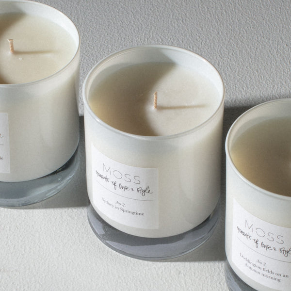 The Foundation Collection scented candles