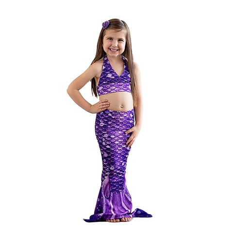 Paradise Purple Toddler Mermaid Tail