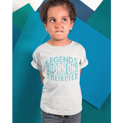 Legends Are Born On The Rheinufer T-Shirt Jungs -