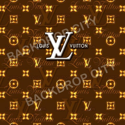 Louis Vuitton Computer Printed Backdrop - Backdrop City