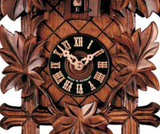 "Hones 11"" 1 Day Carved 100/2 Cuckoo Clock"