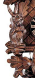 "Hones 10"" 1 Day Carved 134 Cuckoo Clock"