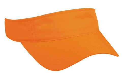 Blaze Orange Visor - Visors -Sport-Smart.com