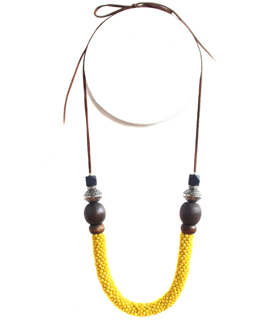 Oksana Tribal Necklace - Etta