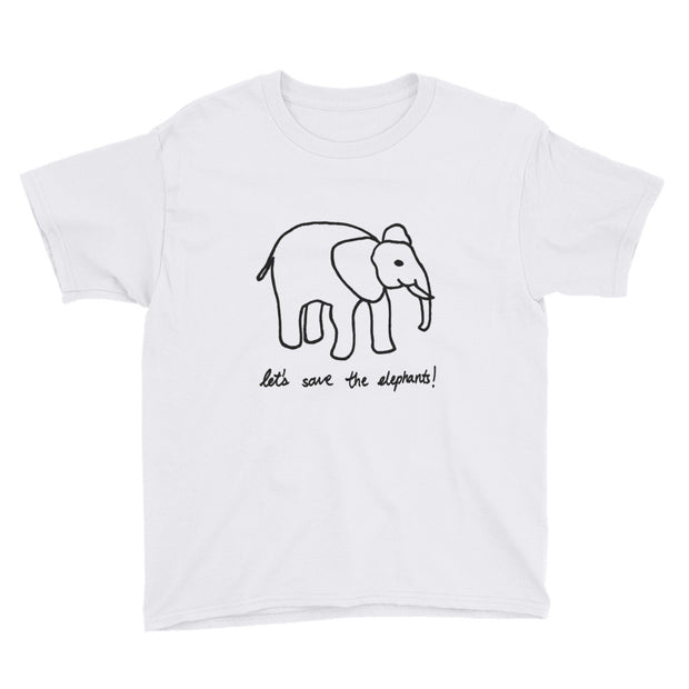 San Carlos School x Ivory Tees YOUTH shirt - Limited Time Only (more colors avail.)