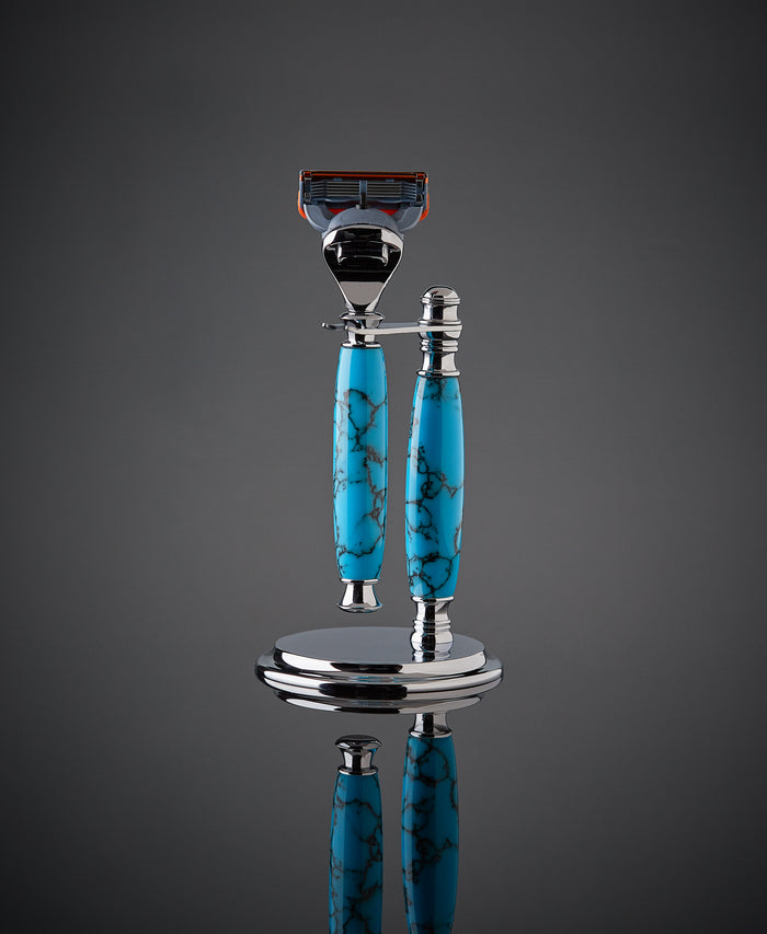 The Sedona Shave Set (Turquoise)