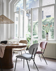 HK Living | Velvet Dining Chair Old Pink | House of Orange Melbourne